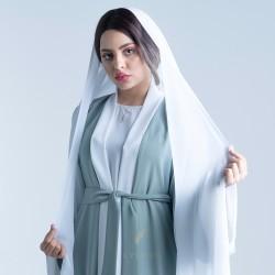 TR006 Plain scarves made of 100% Japanese original Daji fabric
