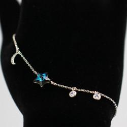 Bracelet with Swarovski stone B0042