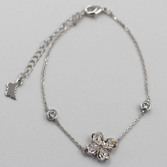 Bracelet with Swarovski stone B0043