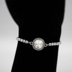 Bracelet with Swarovski stone B0045