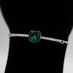 Bracelet with Swarovski stone B0046
