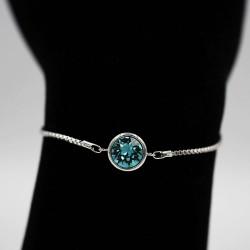 Bracelet with Swarovski stone B0048