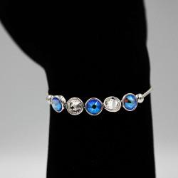 Bracelet with Swarovski stone B0049