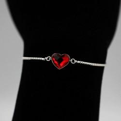 Bracelet with Swarovski stone B0052