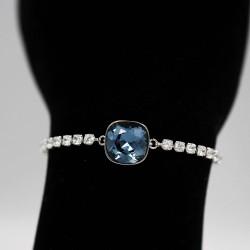Bracelet with Swarovski stone B0054