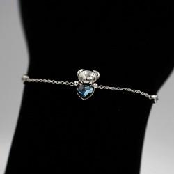 Bracelet with Swarovski stone B0056