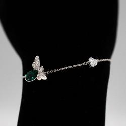 Bracelet with Swarovski stone B0057