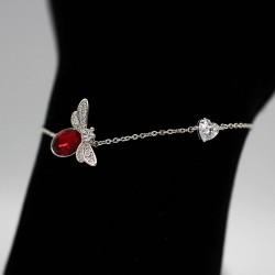 Bracelet with Swarovski stone B0058