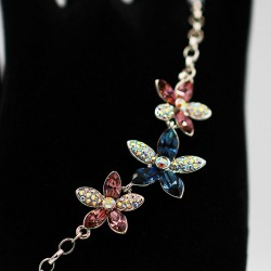 Bracelet with Swarovski stone B0041