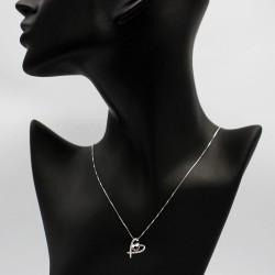 Necklace with Swarovski stone N0029