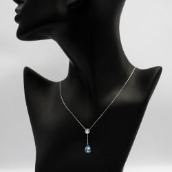 Necklace with Swarovski stone N0030
