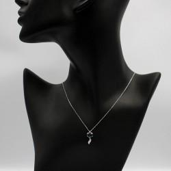 Necklace with Swarovski stone N0033