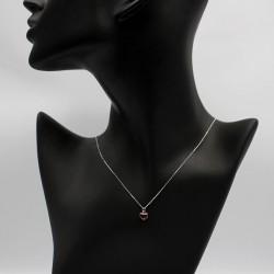 Necklace with Swarovski stone N0034