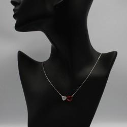 Necklace with Swarovski stone N0036