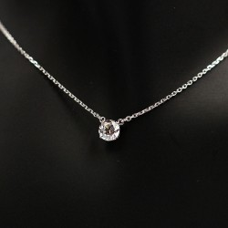 Necklace with Swarovski stone N0038