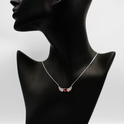Necklace with Swarovski stone N0039