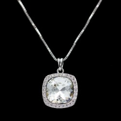 Set Necklace & Earrings with Swarovski stone S5960