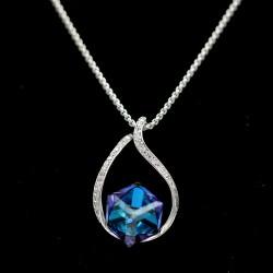 Set Necklace & Earrings with Swarovski stone S6364