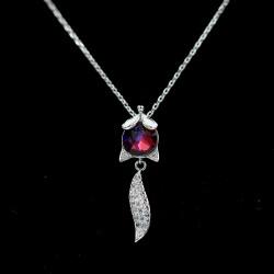 Set Necklace & Earrings with Swarovski stone S6566