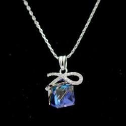 Set Necklace & Earrings with Swarovski stone S6768