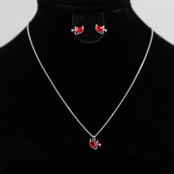 Set Necklace & Earrings with Swarovski stone S6970