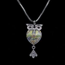 Set Necklace & Earrings with Swarovski stone S7374