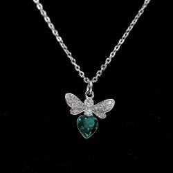 Set Necklace & Earrings with Swarovski stone S7576
