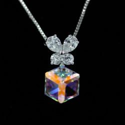 Set Necklace & Earrings with Swarovski stone S7778