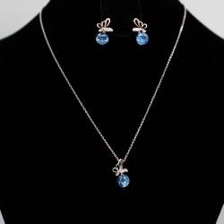 Set Necklace & Earrings with Swarovski stone S7980