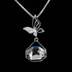 Set Necklace & Earrings with Swarovski stone S8182