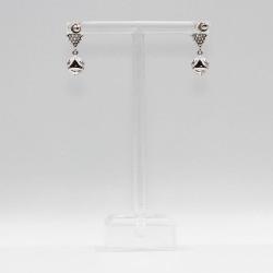 Earrings with Swarovski stone E0011