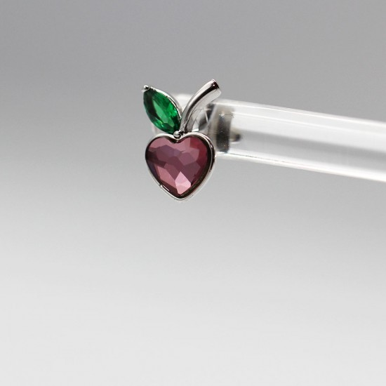 Earrings with Swarovski stone E0016