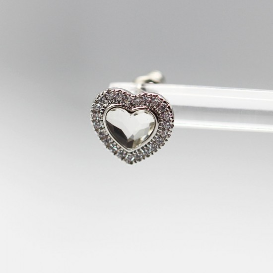 Earrings with Swarovski stone E0019