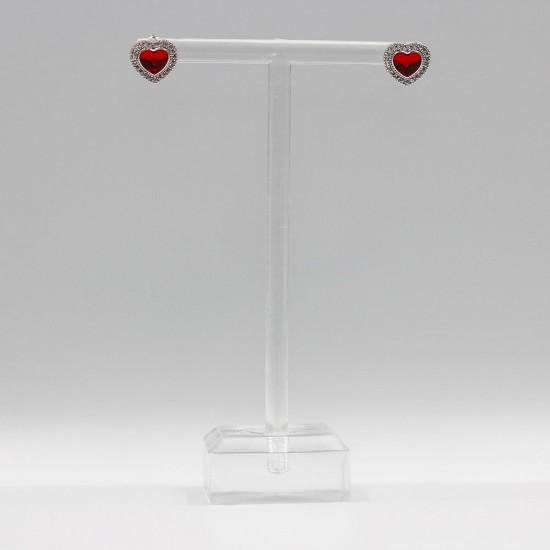 Earrings with Swarovski stone E0020