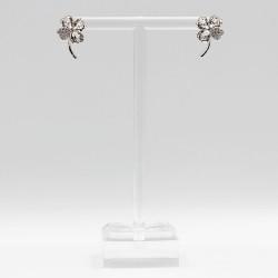 Earrings with Swarovski stone E006
