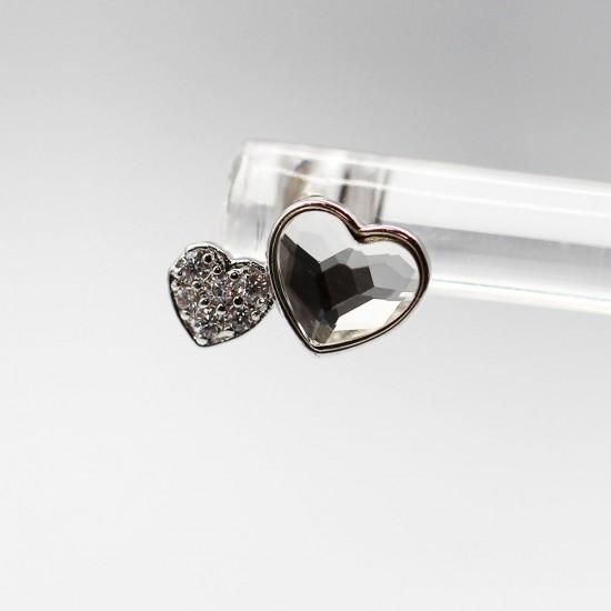 Earrings with Swarovski stone E007