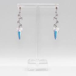 Earrings with Swarovski stone E009
